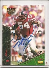 1995 Signature Rookies Steve Ingram Autograph Football Card #39