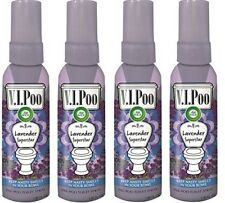 Air Wick V.I.Poo Pre-Poo Toilet Spray, Lavender Superstar, 1.85 oz (4 PACK)