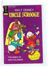 Gold Key Comics Uncle Scrooge #108 VG/F+ 1973