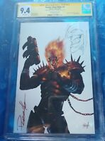COSMIC GHOST #1SDCC PARILLO VARIANT CGC SS 9.4 GOBLIN REMARQUE BY PARILLO