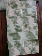 Antique Mottled Fireplace Tile - Complete Set!
