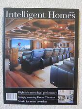 Intelligent Homes Magazine Volume 5 No 1 Fine Architecture Interior Design