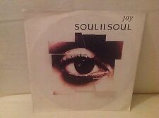 "PC 7"" Vinyl Single Soul II Soul - Joy  1992 Jazzy B Ten Records"