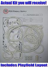 1979 Williams Flash Pinball Machine Rubber Ring Kit
