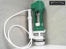 TD Green Toilet Flush Valve Pneumatic Air Push Toilet Syphon Single Flush