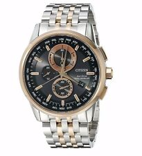 Citizen Eco-Drive Men's AT8116-57E World Chronograph A-T Atomic 43mm Watch