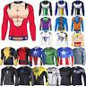 Men Compression DBZ Marvel Superhero T-Shirt Gym Sports Tight Fitness Slim Top
