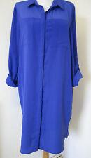 Ladies Long Shirt / Blouse -  Size 14 - Dorothy Perkins - PURPLE - BNWT