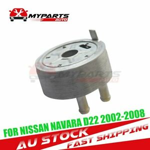 Engine Oil Cooler Fit For Nissan Navara Cab Chassis D22 D40 X-Trail T30 Pathfind