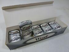 5 Schachteln West Lights- Formula Edition und Box