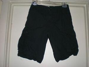 Boy's Levi's Cargo Shorts Medium 12 Black