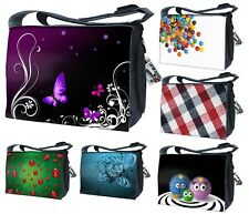 """LUXBURG® 15""""-17.6"""" Luxury Design Laptop Notebook Messenger Shoulder Strap Bag"""