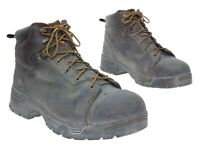 TIMBERLAND PRO Boots 13 M Mens Leather Work Boots Vtg Motorcycle Boots Steel Toe