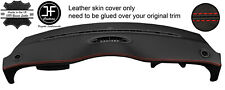 RED STITCH TOP DASH LEATHER COVER FOR BMW MINI R50 R52 R53 04-06 FACELIFT