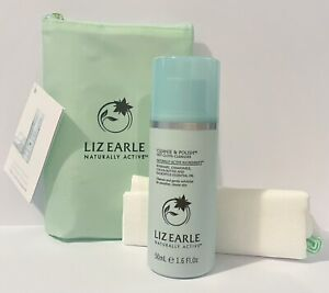 Liz Earle Cleanse & Polish Hot Cloth Cleanser 50ml Travel Size With Muslin
