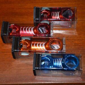 NEW Straitline AMP Stem 31.8 Red, Orange, Blue