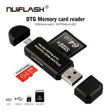 All Cards Reader OTG USB 2.0 Memory Card Reader pen drive for SD/ TF Card