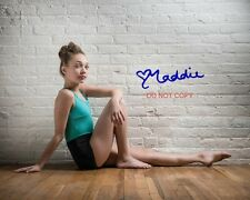 "Maddie Ziegler of Dance Moms Reprint Signed 8x10"" Photo #2 RP Sia Autographed"