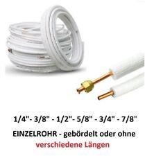 """Kältemittelleitung Kupferrohr 1/4""""-3/8""""-1/2""""-5/8""""-3/4""""-7/8"""" Überwurfmutter"""