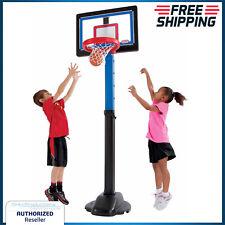 Kids Basketball Hoop Set Indoor Outdoor Sports Play Adjustable Height 4ft-6ft