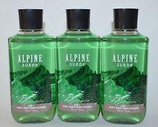 Bath & Body Works Alpine Suede 2 in 1 Hair Body Wash Shower GEL Shampoo