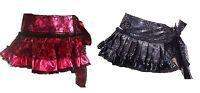 Vixxen Mini Ladies Poizen Industries Pink Glitter New Emo Goth Punk Alternative