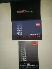 1996 Gmc Sierra Truck Owners Manual With Case
