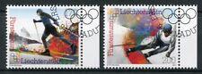 Liechtenstein 2017 CTO Winter Olympics Pyeongchang 2018 2v Set Sports Stamps