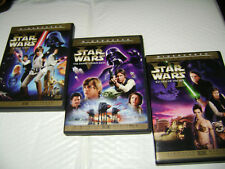 Star Wars IV V VI Limited Edition Trilogy DVD Theatrical Vers 1977+1997 SAGA LOT