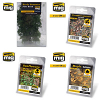 Ammo by Mig Diorama Plants, Bushes and Leaves (Choose Your Variation)