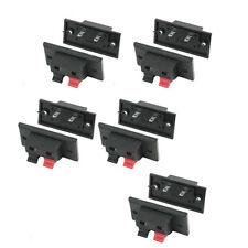 10pz spinta In Tipo di angelo Terminali Speaker connettore 2 posizioni HK
