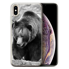 Animaux de zoo Coque Gel pour iPhone XS Max/Ours