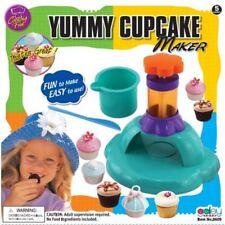 Cocina Divertida Cupcake Muffin Maker máquina Masa Prensa Mezclador casos BBQ Party Juguete