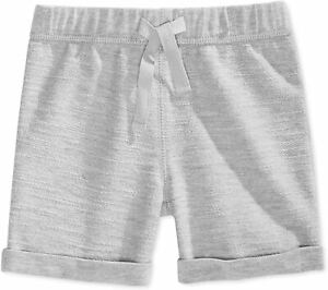 First Impressions Baby Boys Gray Size 12 Months Pull-On Shorts