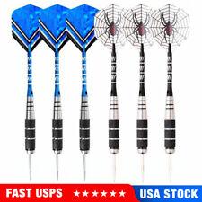 2 sets of Steel Tip Darts Tungsten Barrel Aluminium Shafts Professional Dart USA