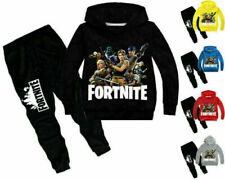Fortnite Hoodie Pants Suit Boys Girls Long Sleeve Tracksuit Sportswear Tops Coat