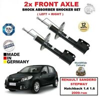 FOR RENAULT SANDERO STEPWAY Hatchback 1.4 1.6 2009->on FRONT SHOCK ABSORBERS SET