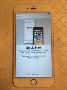Apple iPhone 6s Plus - 128GB - Rose Gold (Unlocked) A1634 (CDMA + GSM)