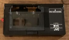Original OEM JVC C-P7U Motorized Cassette Adapter Compact VHS-C to VHS