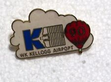 1990 WK KELLOGG AIRPORT K BALLOON PIN