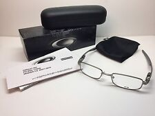 NIB Oakley Rudder Light Silver Frames 48/17/139 Rx Eyeglasses OX3171-0248