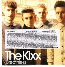 (CE47) The Kixx, Breathless - 2011 DJ CD