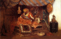 Dream-art Oil painting William Merritt Chase - Arab man - The Moorish Warrior @@