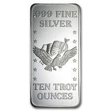 10 oz Silver Bar - U.S. Assay Office - SKU #42432