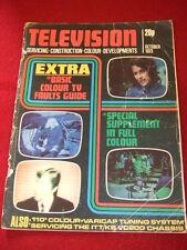 TELEVISION - VARICAP TUNING SYSTEM - Oct 1973 # 276