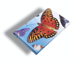 """ACME Studio """"Butterflies"""" Printed All Leather Card Case by Adrian Olabuenaga"""