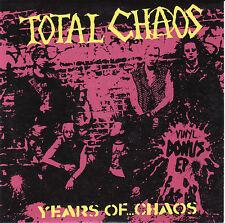 "TOTAL CHAOS Years of chaos Bonus e.p. 7"" Single (2006 People like you) Neu!"