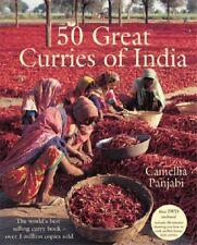 50 Great Curries of India + DVD-Camellia Panjabi