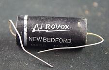 One Vintage NOS Aerovox .2uF 600 Vdc, type V161- 456 Audio Tone Capacitor