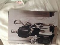 M17b8 6x4 Inches reprint Photograph ww1 Wedding Couple Bride 043 formal look